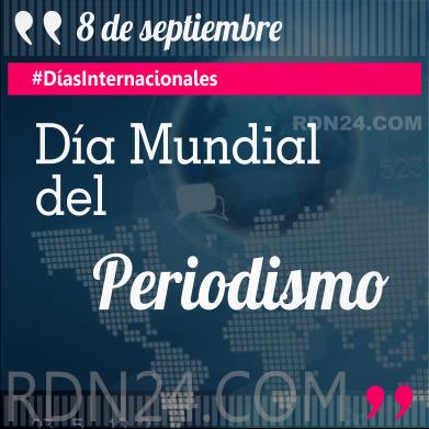 Día Mundial del Periodismo #DíasInternacionales