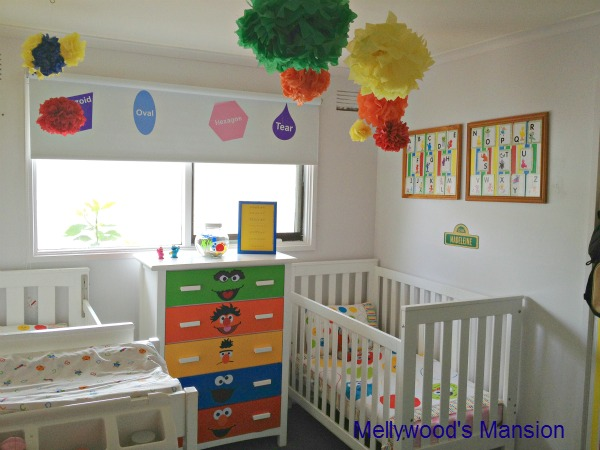 Juripunek can you tell me how to get to sesame street for Bedroom ideas for baby boy and girl sharing