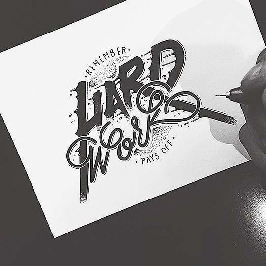 Ilustración, caligrafía y diseño Raul Alejandro