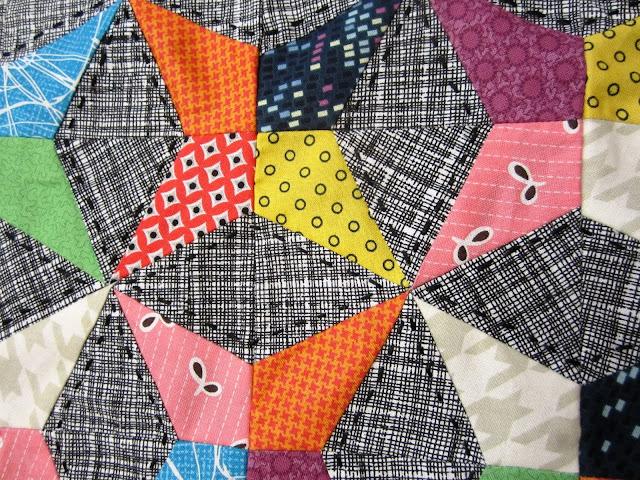 Kaleidoscope Pillow Detail