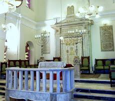 """בית הכנסת """"מונסטיריוטס"""" בית הכנסת המרכזי בעיר סלוניקי"""