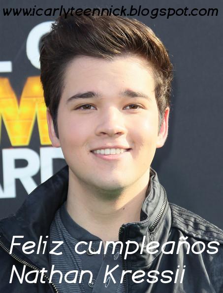 Cumpleaños de Nathan Kress (Freddie)