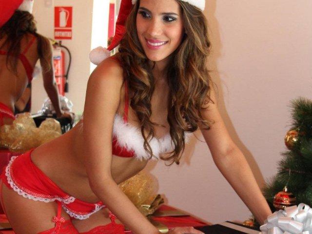 fotos sexy de navidad:
