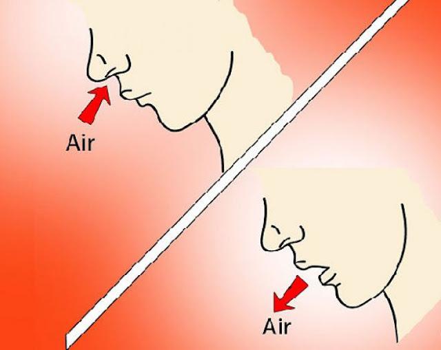 Mana Lebih Sehat? Bernafas lewat Hidung Atau Lewat Mulut?