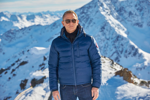 Daniel Craig commences filming SPECTRE in Solden, Austria
