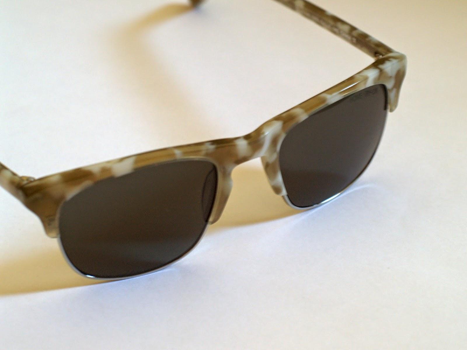 Warby Parker Ellison Marbled Sandstone