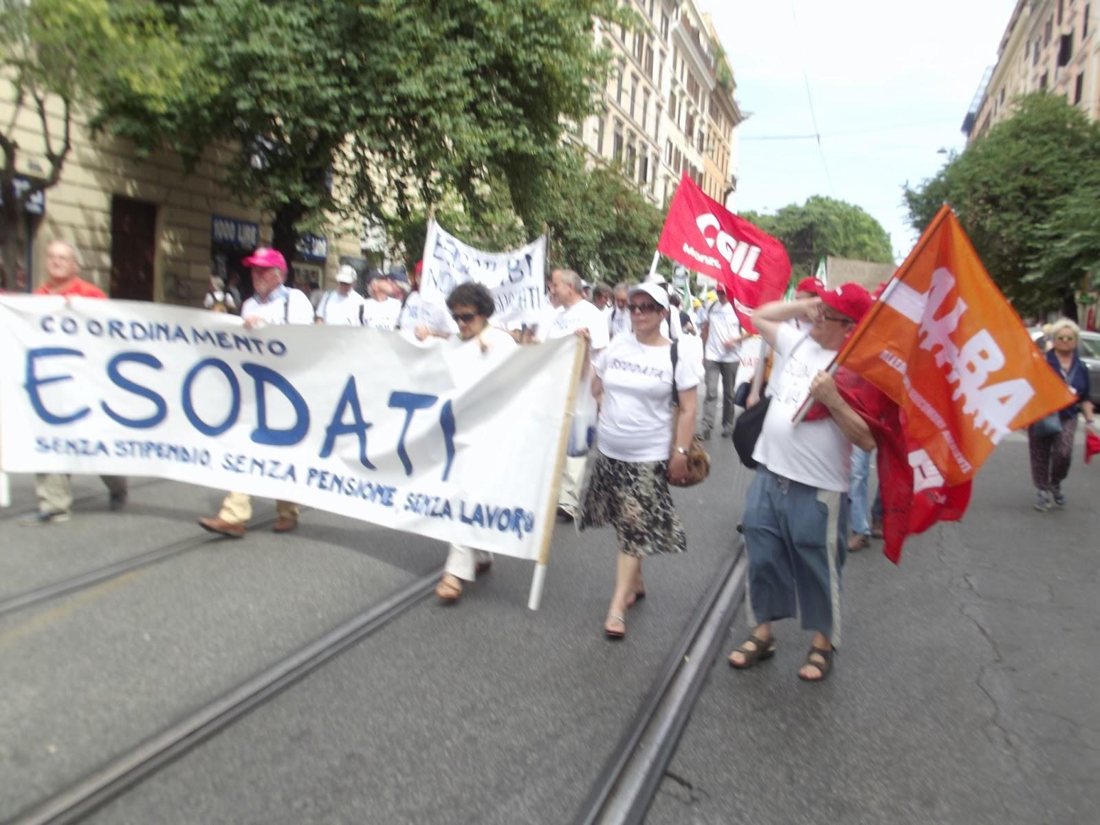 La manifestazione vista dal TG3 delle 14 20 di sabato 22 6 2013