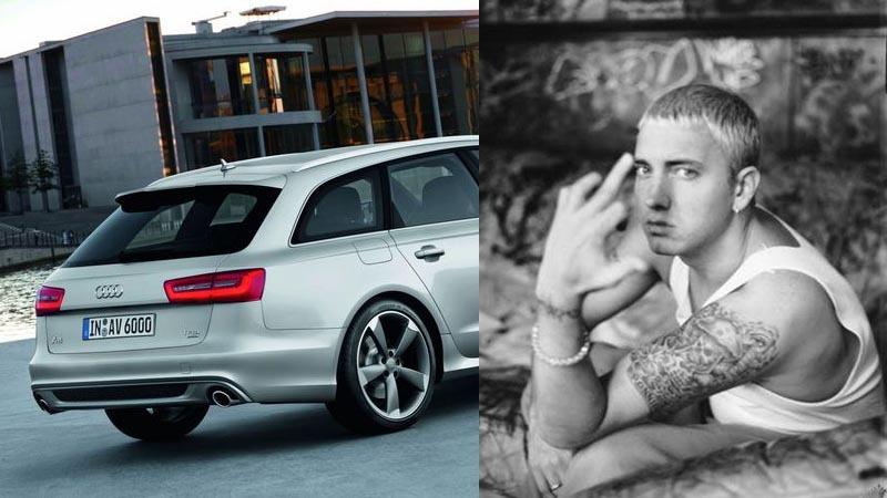 Eminem Sues Audi Car Report Daily