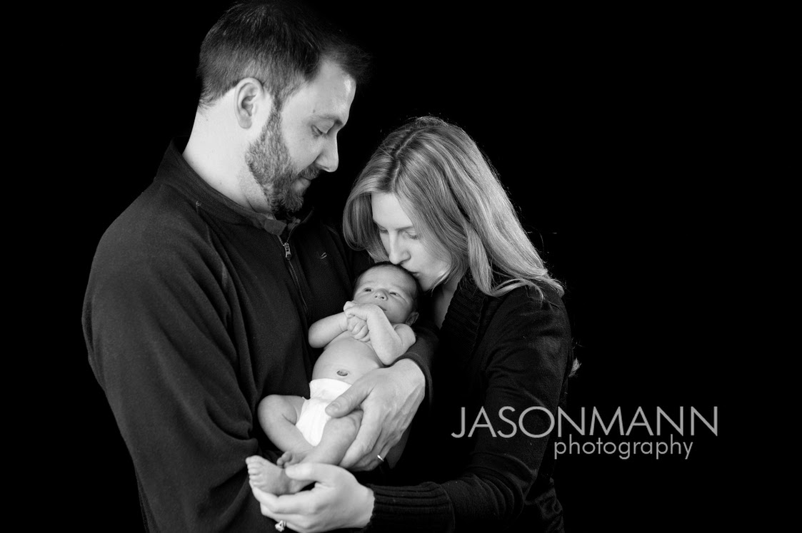 Door County Family Portraits, New Baby Studio Photos