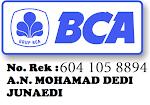 No Rekening BCA: