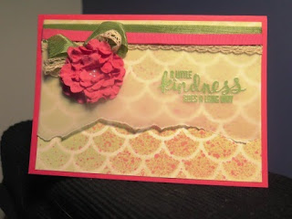 spritzed a little kindness vellum Zena Kennedy Stampin Up independent demonstrator