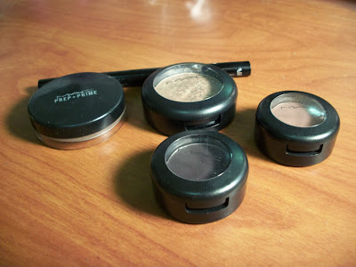 M.A.C. eyeshadow combo: for the night out