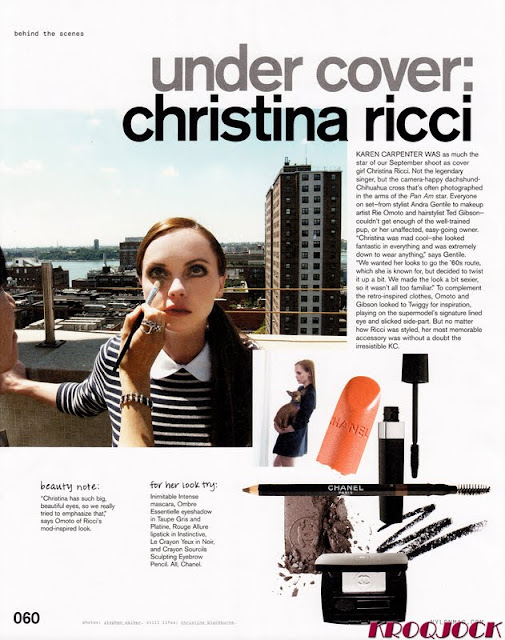 Christina Ricci – Nylon Magazine – September 2011