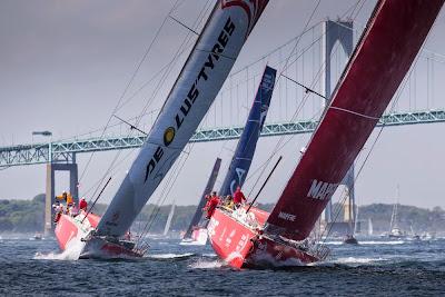 Départ de Newport pour la Volvo Ocean Race !