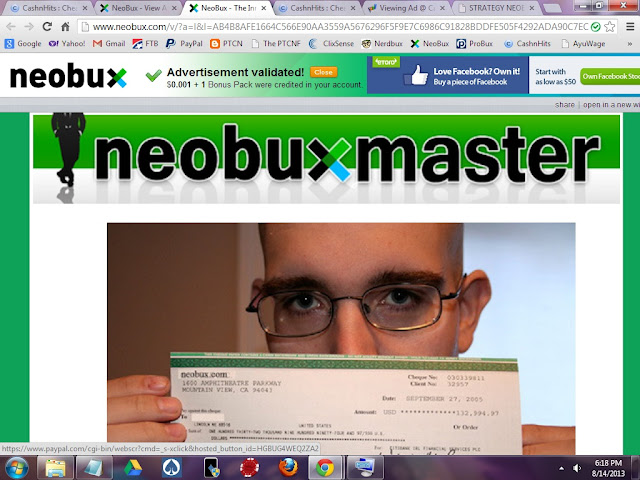 Neobux Master Referral Scam