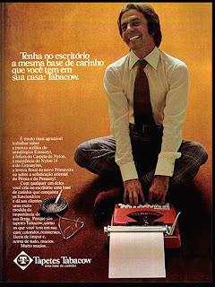 tabacow anos 70; 1973; os anos 70; propaganda na década de 70; Brazil in the 70s, história anos 70; Oswaldo Hernandez;
