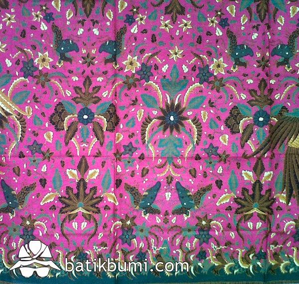 Kain Batik Printing motif Burung KP 08