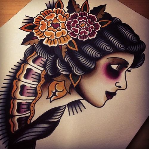 Tattoo ink varios desenhos old school various for Traditional tattoos tumblr