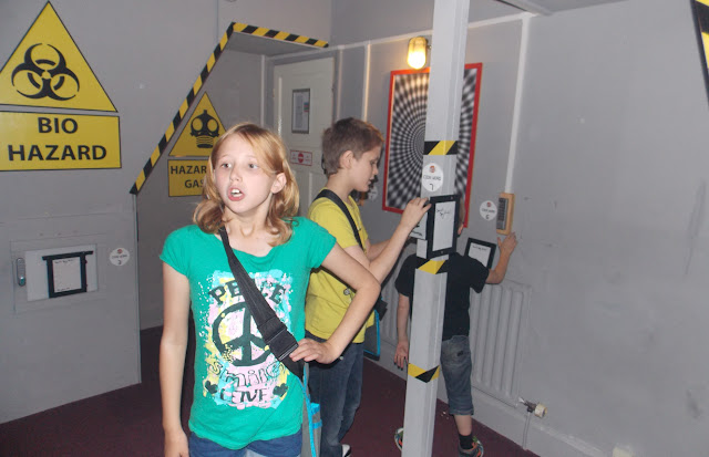 children inside the spyzone matlock bath