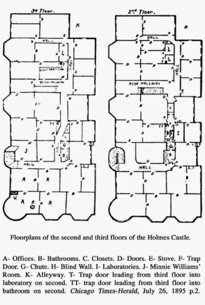 El Holmes Murder Castle, un buen escenario en el que pasar Halloween
