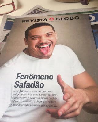 Wesley Safadão é destaque na Revista O Globo.