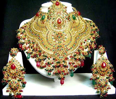 Latest Bridal Jewellery Set Models