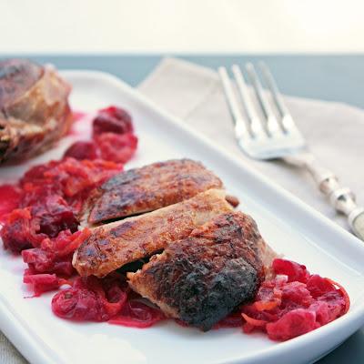 Roasted Duck with Cranberry, Orange & Cardamom Glaze | I Breathe I'm ...