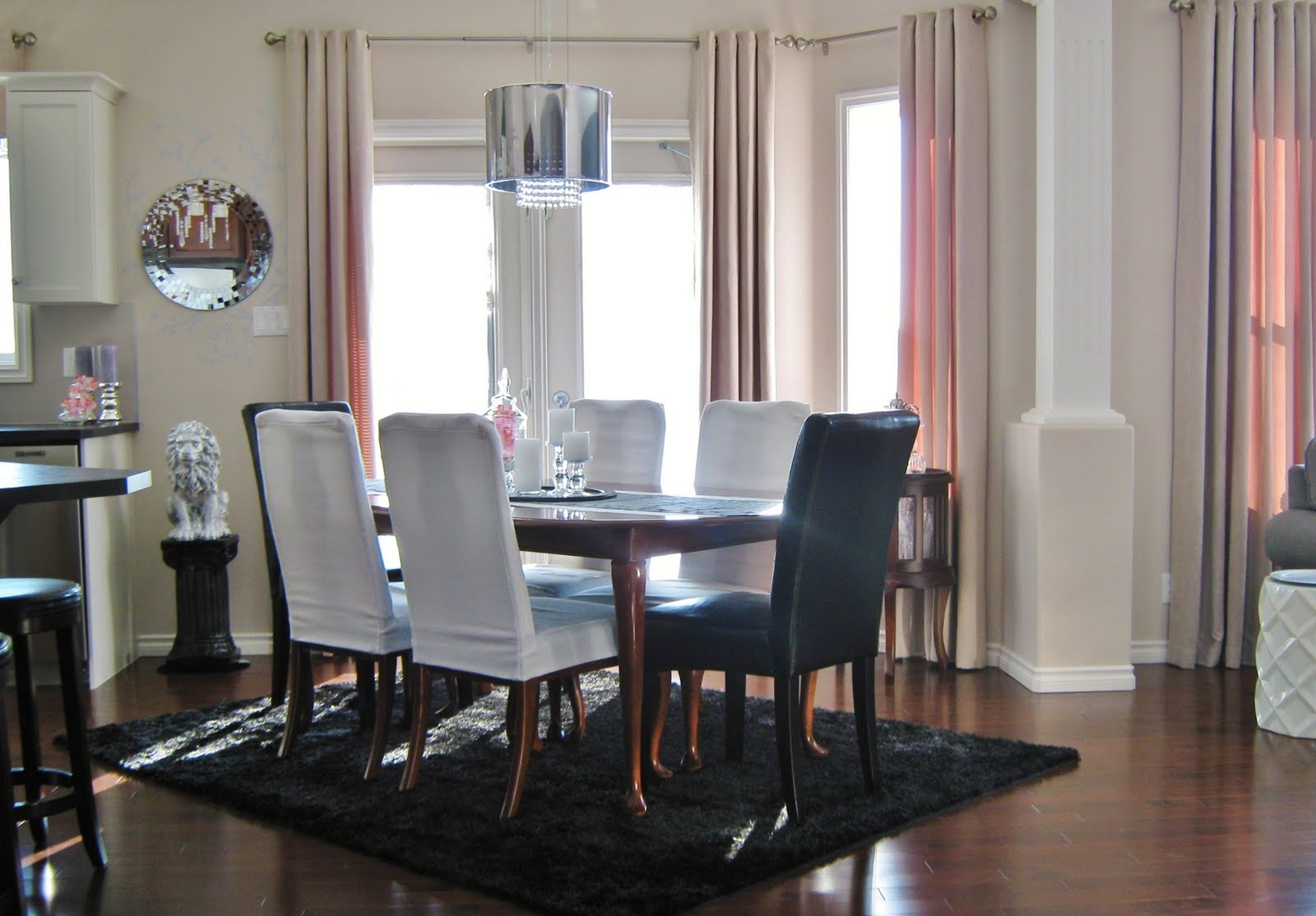 Creating an open concept dining room house design and for Dining room definition