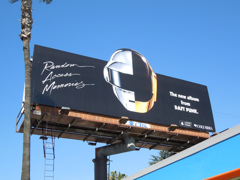 Daft Punk Random Access Memories billboard