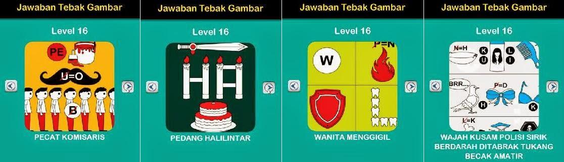 Jawaban Game Tebak Gambar Android Level 16 17-20