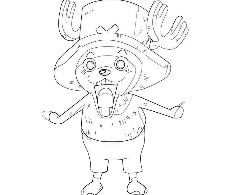 printable-one-piece-tony-tony-chopper-look_coloring-pages