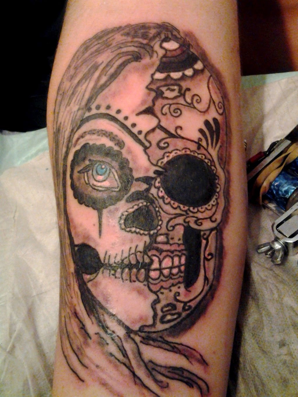 Great Catrina Tattoos Design Idea
