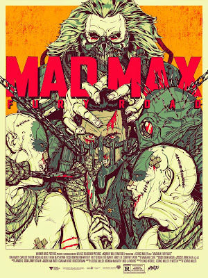 Mad Max: Fury Road Screen Print by Boneface