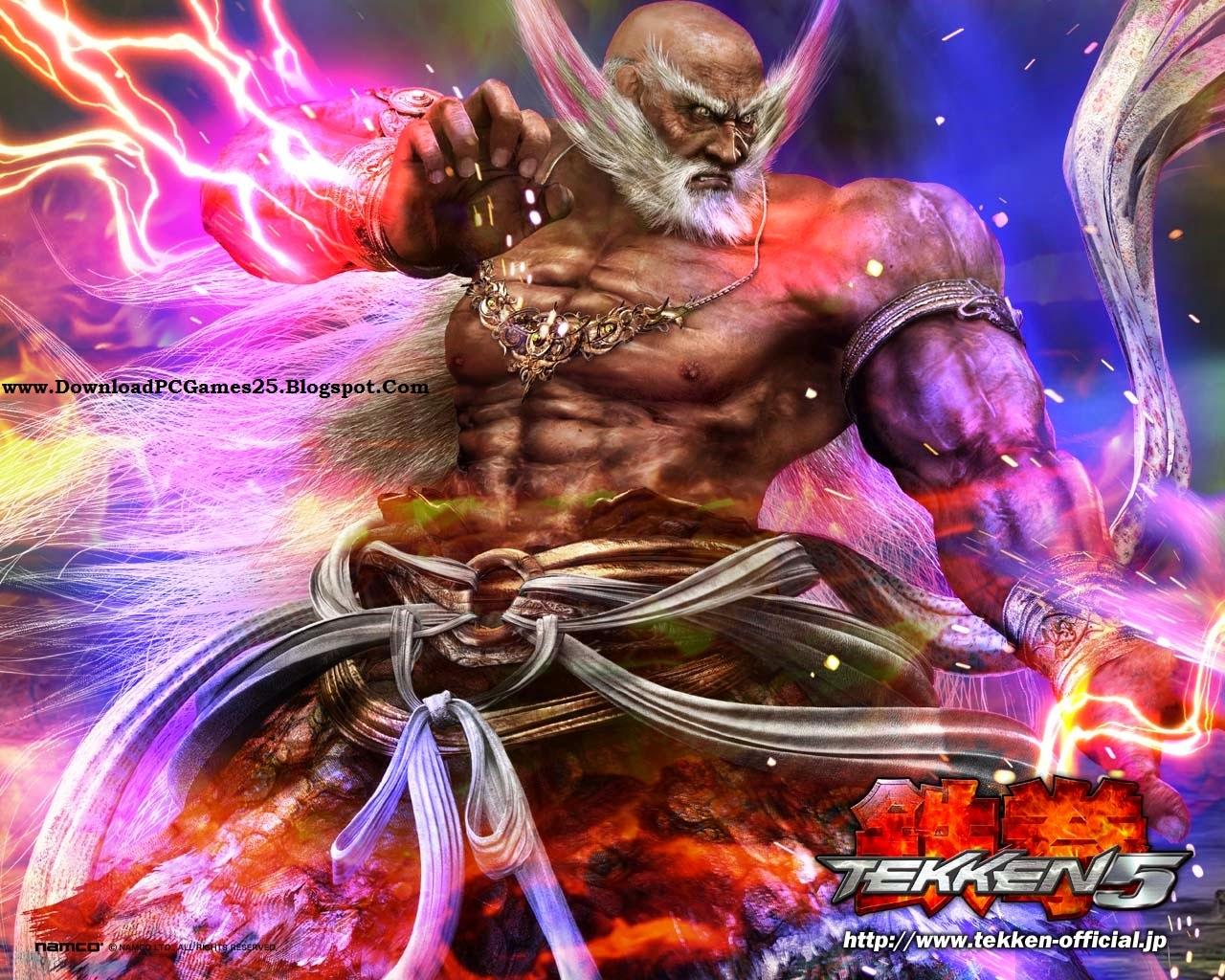 Tekken 5 PC Wallpapers