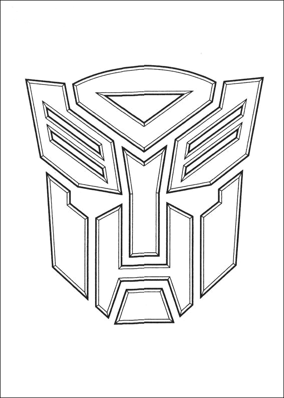 Transformers Coloring Pages Free Printable Coloring Transformers Color Pages