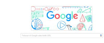 Google Doodle Hari ini Mengangkat Tema Hari Guru Nasional