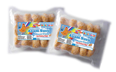 Nugget Ayam Susu Ayam Original - Anak Sehat Foods