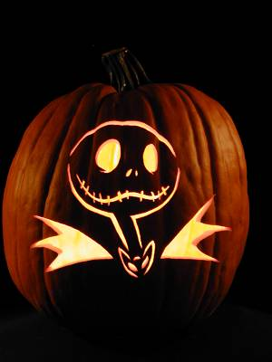 How to Make Nightmare Before Christmas's Jack Skellington From a