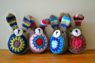 free crochet pattern easy easter bunny