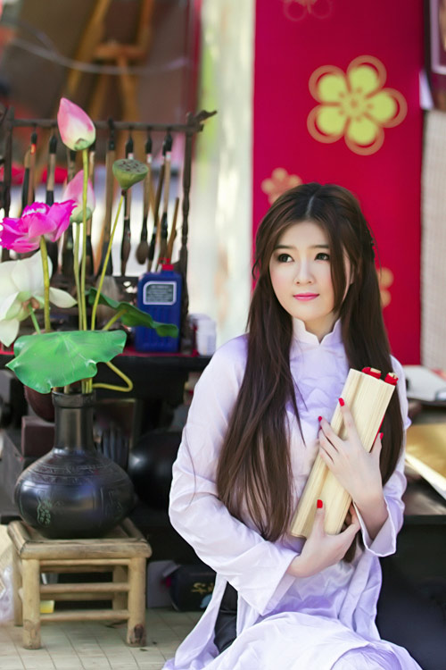 Ảnh gái đẹp HD hot girl luly luta dễ thương 10