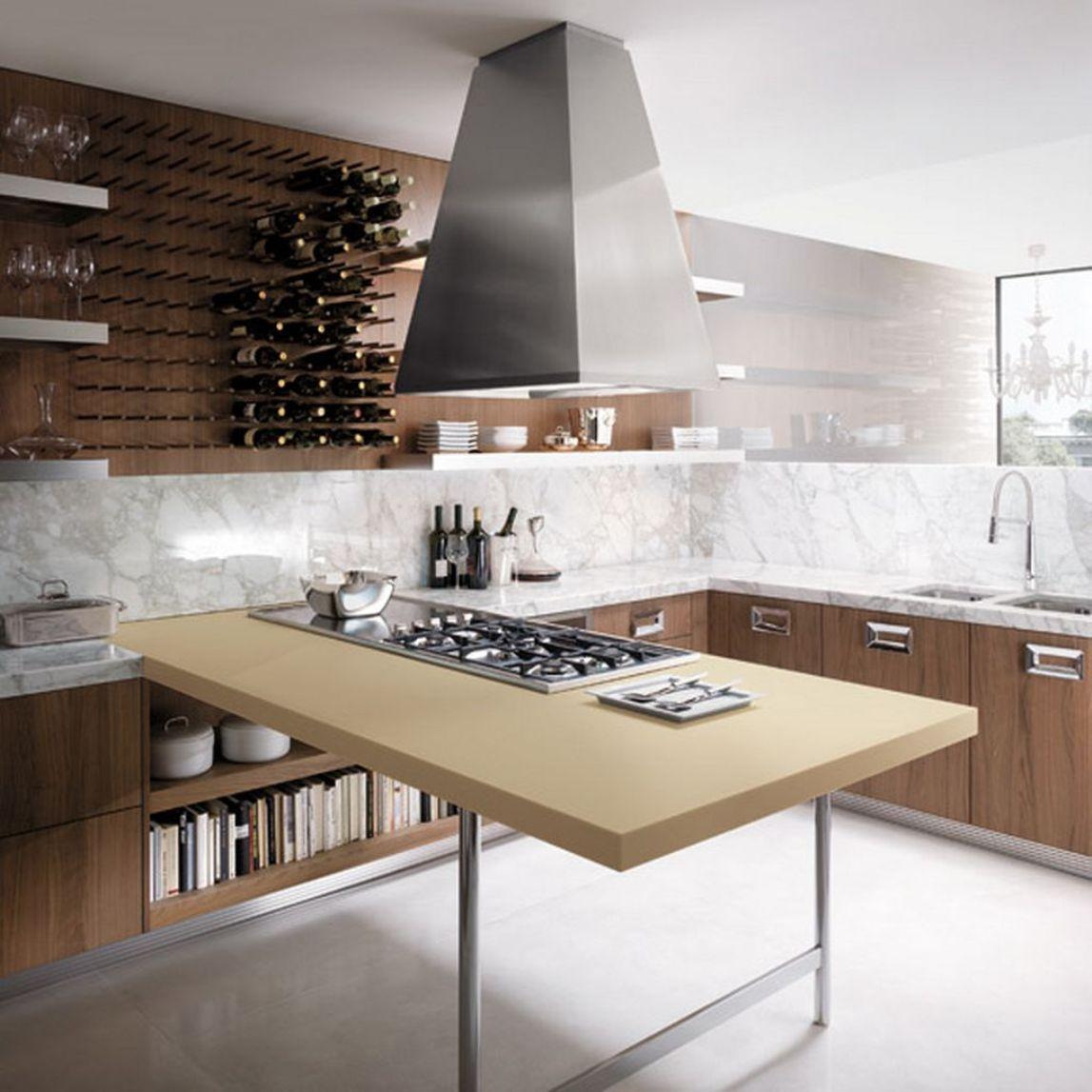 kitchen set minimalis modern murah desain gambar