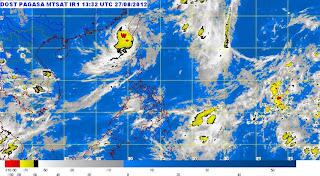 Typhoon Igme is back to Philippine Area of Responsibility