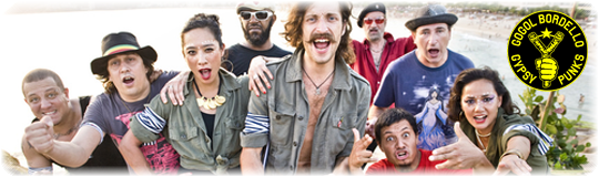 What Listen? Что послушать? Gogol Bordello punk панк фолк folk группа group