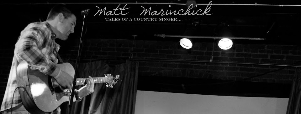 Matt Marinchick: Tales of a Country Singer...