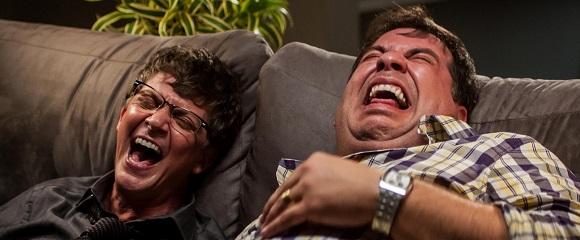 Kiko Mascarenhas e Leandro Hassum em ATÉ QUE A SORTE NOS SEPARE