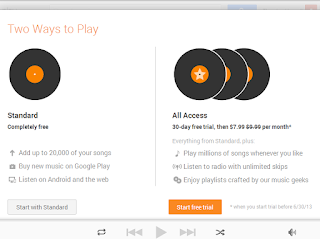 the new google music streaming service