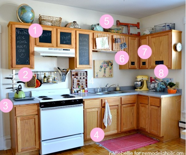 The lovely side revamp your rental kitchen with ideas Revamp old kitchen cabinets