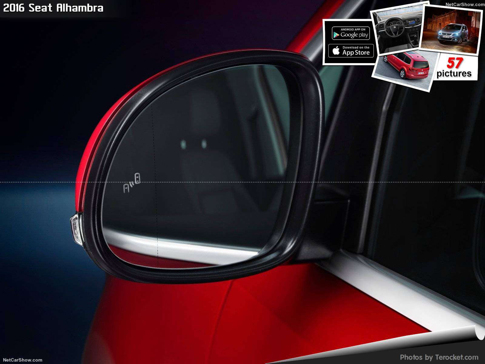 Hình ảnh xe ô tô Seat Alhambra 2016 & nội ngoại thất