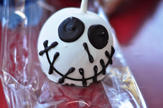 Halloween Time Disneyland nightmare before christmas candy apple
