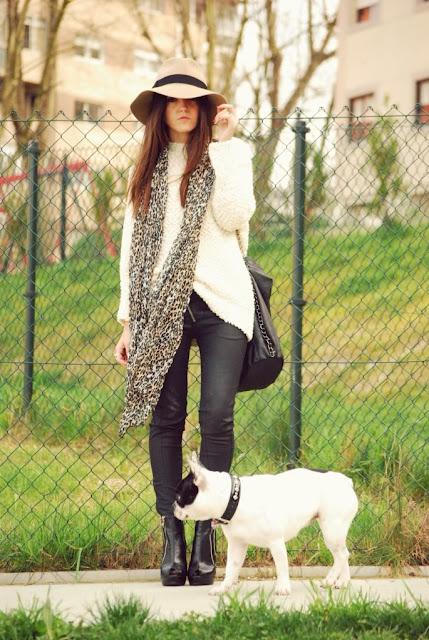 leopard print scarf, leopard print, lovelypeppa,blog